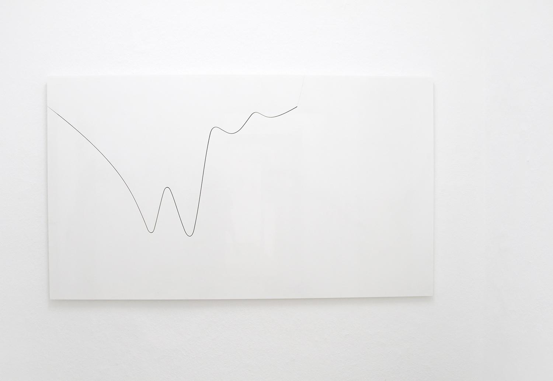 Weißer Marmor, geschnitten und gebrochen, 193,7 × 112 × 2 cm, Mai 2018 (rank: 16 394), fortlaufend