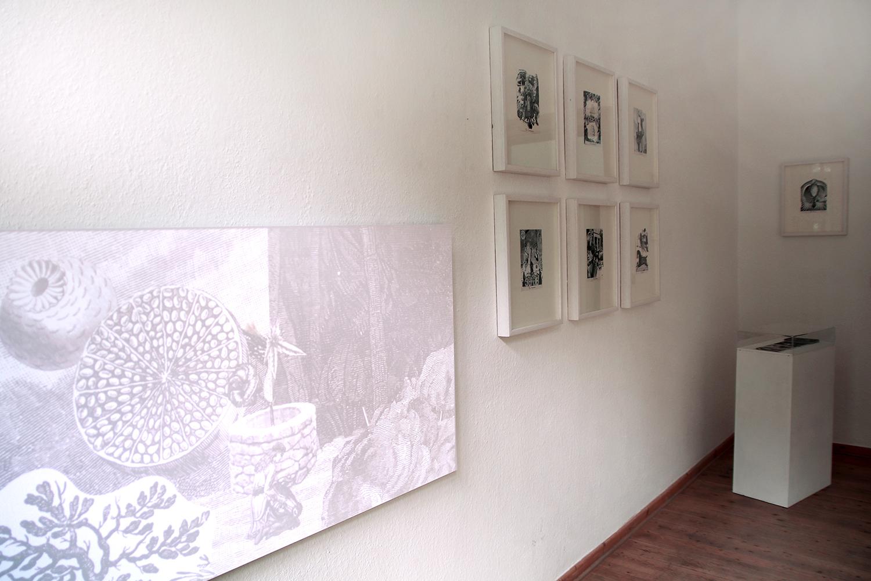 Installation, 22 Collagen, 14,8 × 21 cm, Tarotkarten, Animation HD, 6:29 min, 2015